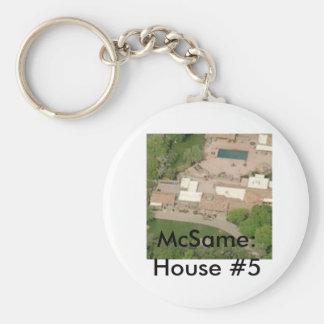 McSame: House #5 Keychain