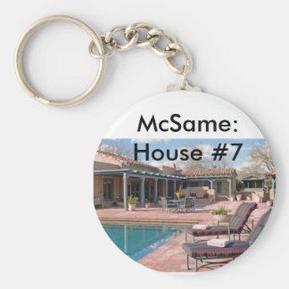 McSame: House #7 Keychain