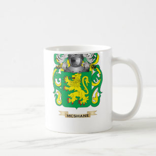 McShane Coat Of Arms (Family Crest) Coffee Mug