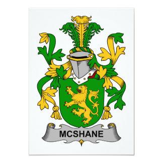 McShane Family Crest Card