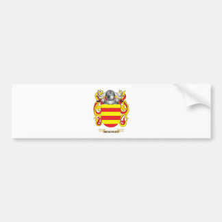 McSorley Coat of Arms (Family Crest) Bumper Sticker