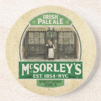 McSorley Posavasos Cerveza