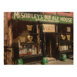 McSORLEY'S OLD ALE HOUSE Postcard