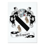 McTaggart Family Crest Custom Announcement