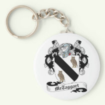 McTaggart Family Crest Keychain