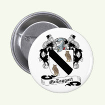 McTaggart Family Crest Button