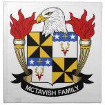 McTavish Family Crest Napkins