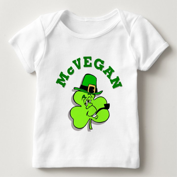 McVegan Funny St. Patrick's Day Baby Shirt