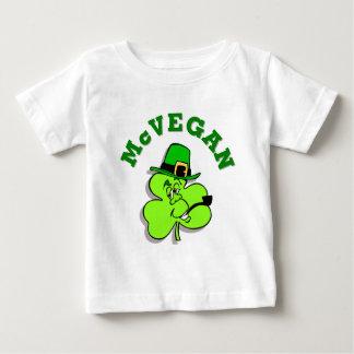 McVegan Funny St. Patrick's Day Baby T-Shirt