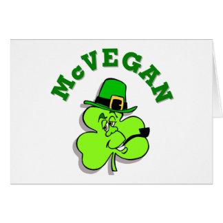 McVegan Funny St. Patrick's Day Greeting Card