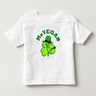 McVegan Funny St. Patrick's Day Kids Shirt