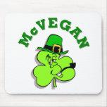 McVegan Funny St. Patrick's Day Mousepad