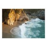 McWay escénico cae las caídas en la playa y los 2 Foto