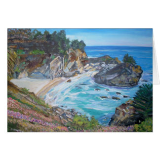 McWay Falls, Big Sur - Stationery Note Card