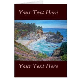 McWay Falls, Big Sur - Greeting Card