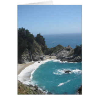 McWay Falls- Big Sur Greeting Card