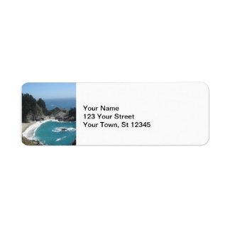 McWay Falls -Big Sur Label
