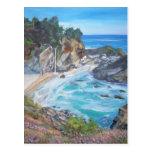 McWay Falls, Big Sur - Postcard