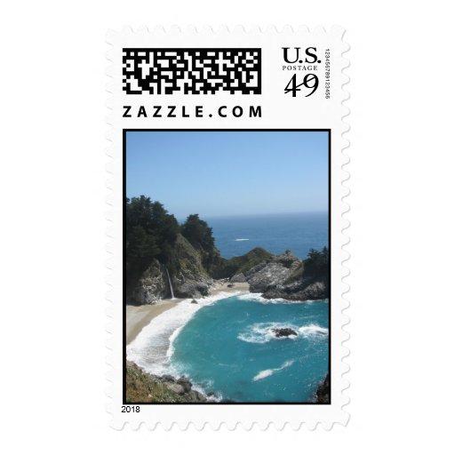 McWay Falls- Big Sur Stamps