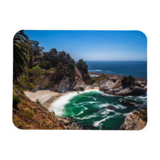 Mcway Falls in Julia Pfeiffer Burns state park Magnet