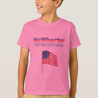McWherter Patriotic American Flag 2010 Elections T-Shirt