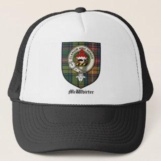 McWhirter Clan Crest Badge Tartan Trucker Hat