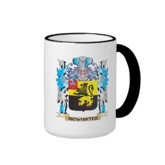 Mcwhirter Coat of Arms - Family Crest Ringer Coffee Mug