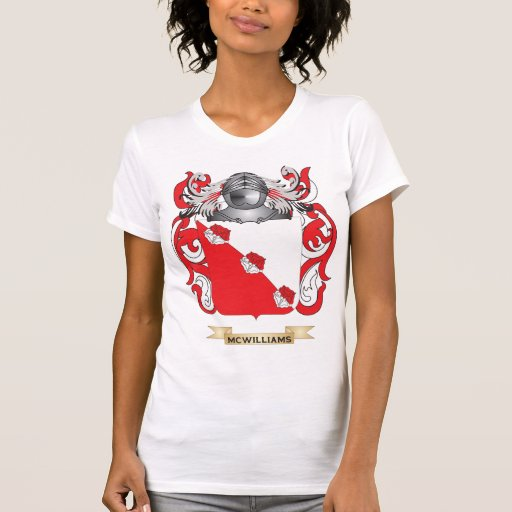 McWilliams Coat of Arms (Family Crest) Tee Shirts