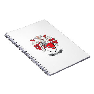 McWilliams Family Crest Coat of Arms Notebook