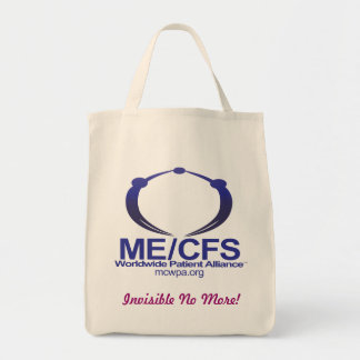 MCWPA Grocery Tote, Invisible No More! Tote Bag