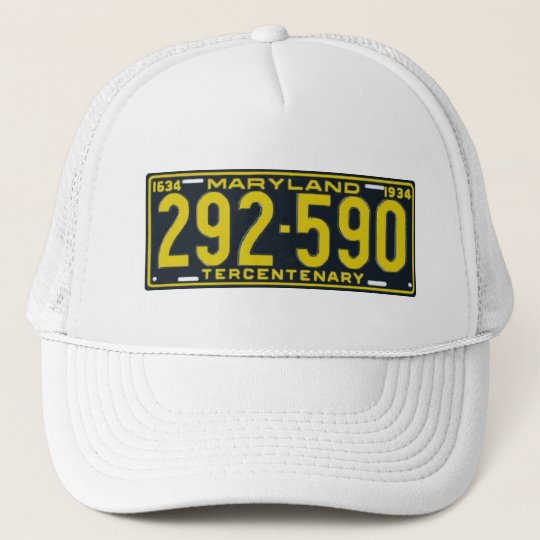 MD34 TRUCKER HAT