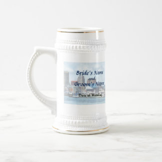 MD - Baltimore Skyline and Harbor Wedding Products Beer Stein