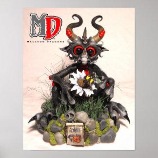 """MD Black Dragon 11""""x14"""" Mini Poster"""