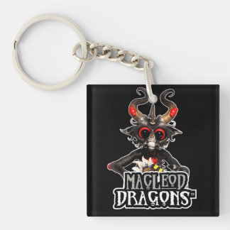 MD Black Dragon Double-sided Acrylic Keychain