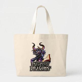 MD Blue Dragon Jumbo Tote