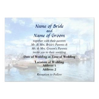MD - Boat Basin Fells Point Wedding Products Card