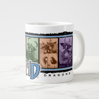 MD Colored Bar Logo 20oz. Jumbo Mug 20 Oz Large Ceramic Coffee Mug