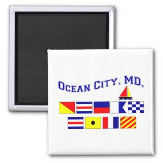 MD de la ciudad del océano Imán Cuadrado
