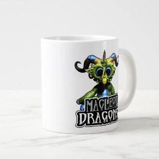 MD Green Dragon 20oz. Jumbo Mug 20 Oz Large Ceramic Coffee Mug