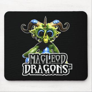 MD Green Dragon Mousepad