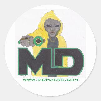 MD Grey-Thug Sticker