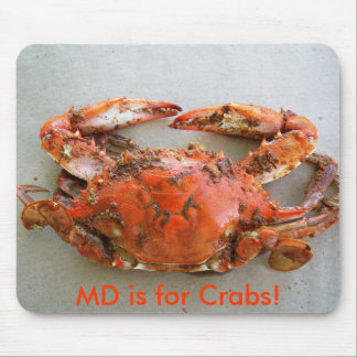 MD is for Crabs! - MOUSE PAD