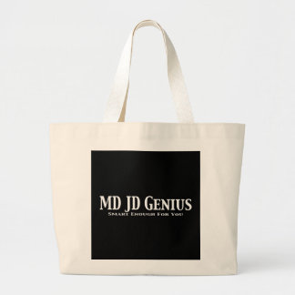 MD JD Genius Gifts Jumbo Tote Bag