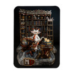 """MD Library Dragon 3"""" x 4"""" Photo Magnet"""