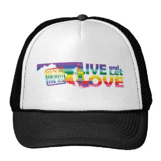 MD Live Let Love Mesh Hat