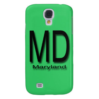 MD Maryland black Samsung Galaxy S4 Cover