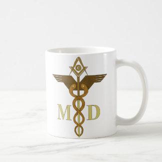 MD masónico Taza