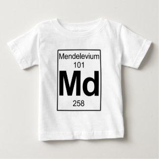 Md - Mendelevio Playera Para Bebé