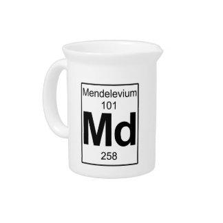 Md - Mendelevium Beverage Pitcher
