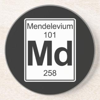 Md - Mendelevium Drink Coaster